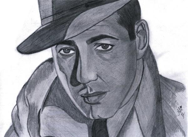 Humphrey Bogart by bobbydar01@gmail.com